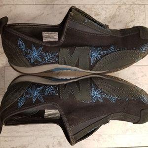 Merrell zipper Barrado Sport Navy shoe. Size 9.5